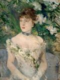 Berthe Morisot - Young woman in a ball gown