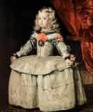Diego Rodriguez de Silva y Velazquez - The Infanta Margarita in a white Dress