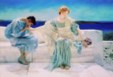 Sir Lawrence Alma-Tadema - Ask me no more