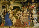 Gentile da Fabriano - Adoration of the Kings / detail