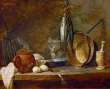 Jean-Baptiste-Siméon Chardin - The Fast Day Meal