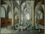 Peeter Neeffs - Interior of a church