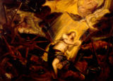 Jacopo Robusti Tintoretto - St. Catherine of Alexandria suffering the Martyrdom on the Wheel