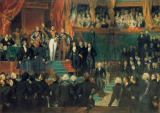 AKG Anonymous - Louis-Philippe swearing the oath on the constitution before both houses of parliament