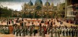 Gentile Bellini - Procession on the Piazza S. Marco