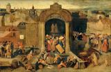 Pieter Brueghel der Ältere - Christ cleaning the Temple