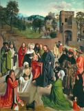 Geertgen tot Sint Jans - Raising of Lazarus from the dead