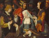 Lucas van Leyden - The Fortune-Teller (Cards)