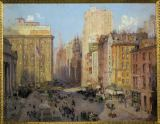 Colin  Campbell Cooper - Fifth Avenue, New York
