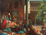 John Frederick Lewis - Lunch in Cairo
