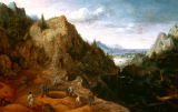 Lucas van Valckenborch - Landscape with Ironworks