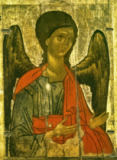 AKG Anonymous - Archangel Michael / Icon / 14th century