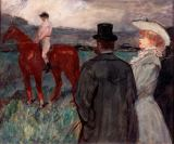 Henri de Toulouse-Lautrec - At the race
