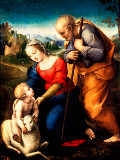 Raphael - The Holy Family with the lamm
