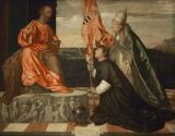 Tizian - Jacopo Pesaro and Pope Alexander VI before Saint Peter