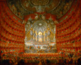 Giovanni Paolo Pannini - Music festival, held by Cardinal de la Rochefoucauld at the Teatro Argentina in Rome on 15th July 1747 to celebrate the marriage