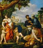 Pietro Da Cortona - L'alliance de Jacob et Laban - the allia