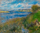 Pierre Auguste Renoir - The Seine at Champrosay