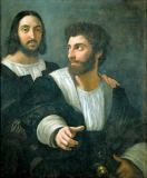 Raphael - Selfportrait with his friend
