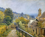 Alfred Sisley - Louveciennes or The Heights at Marly, 1873