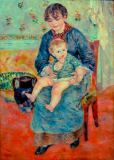 Pierre Auguste Renoir - The young mother