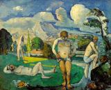 Paul Cézanne - The Great Swimmers