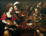 Wouter Pietersz Crabeth - Social gathering to make music