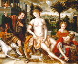 Jan Massys - David und Bathseba