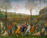 Pietro Perugino - The battle between Love and Chastity, 15