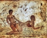 AKG Anonymous - Erotic Scene / Pompeiian Wall Paint.