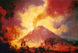 Pierre-Jacques Antoine Volaire - Vesuvius eruption