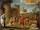 Annibale Carracci - Stoning of St.Stephen