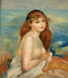 Pierre Auguste Renoir - Bather 1884/85