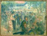 Pierre Auguste Renoir - Dance in the Moulin de la Galette, sketch for the painting of 1876