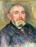 Pierre Auguste Renoir - Portrait of the artist Henry Lerolle