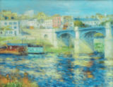 Pierre Auguste Renoir - The bridge of Chatou