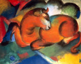 Franz Marc - Roter Stier
