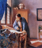 Jan Vermeer van Delft - The geographer