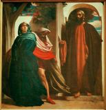 Lord Frederick Leighton - Jezebel and Ahab (..) met at the entrance Elijah the Thishite. Hast thou killed, and also taken possession?