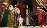 Lord Frederick Leighton - Dante in Exile