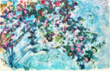 Claude Monet - The rose-bush / 1925/26