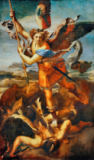 Raphael - St.Michael kills the demon