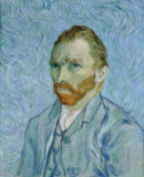 Vincent van Gogh - Selfportrait, Painted in Saint-Remy, May 1889 until May 1890