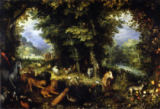Jan Brueghel der Ältere - The Earthly Paradise
