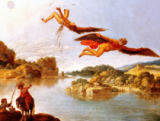 Carlo Saraceni - The Fall of Icarus