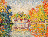 Paul Signac - The Seine near Samois