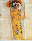 Gustav Klimt - The Knight detail of the Beethoven Frieze