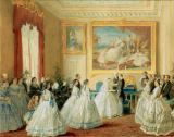George Housman Thomas - The wedding of Princess Alice with the Grand Duke Ludwig of Hesse