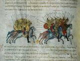13. Jahrhundert - Fight Byzantine against Arabs /Skylitz.