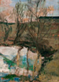 Paula Modersohn-Becker - Willows by the pond
